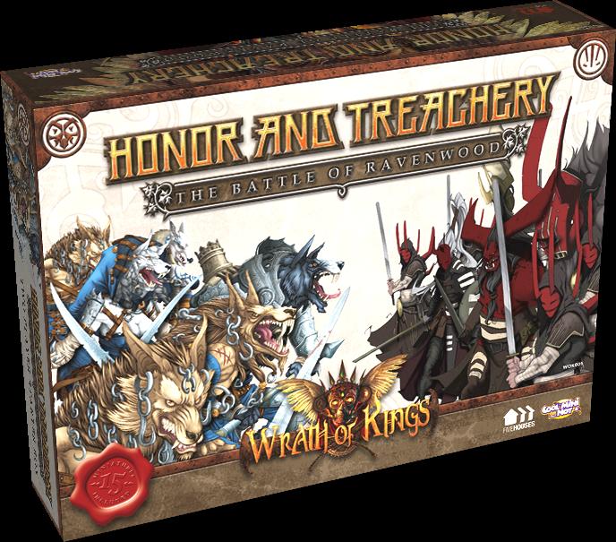 War Of Kings Facebook: Wrath Of Kings' Honor And Treachery 2-Player Starter