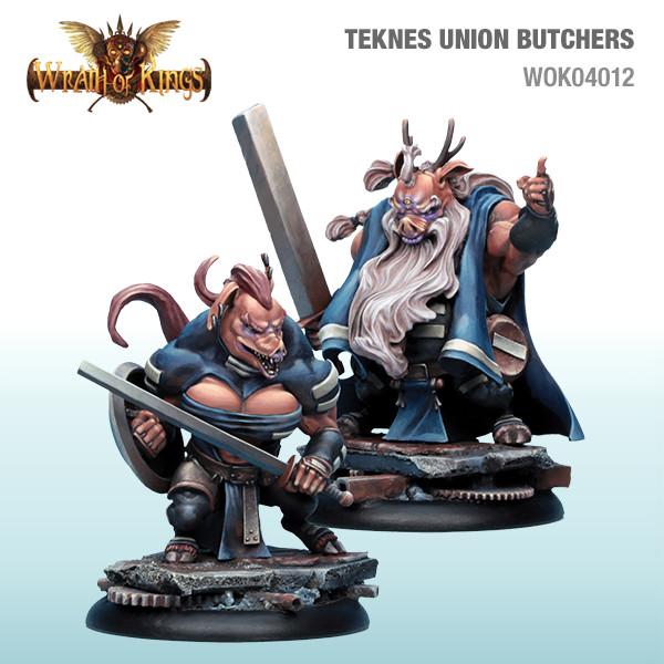 WOK04012 Teknes Butchers